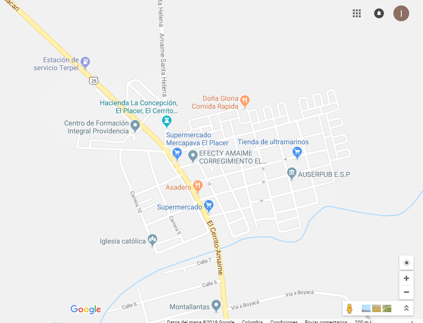 mapa of